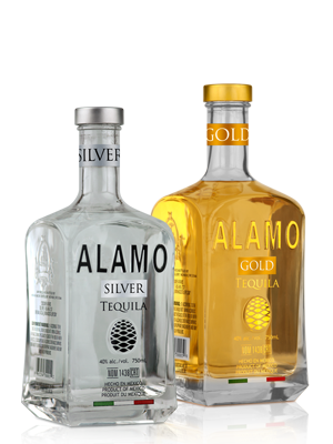 Alamo Gold Tequila