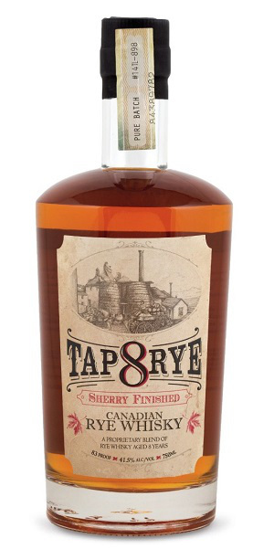TAP 8 Rye (Sherry Finished)